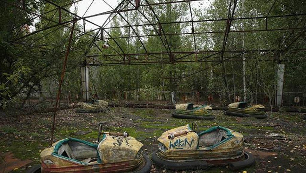 Kota Mati Akibat Bencana Nuklir Chernobyl