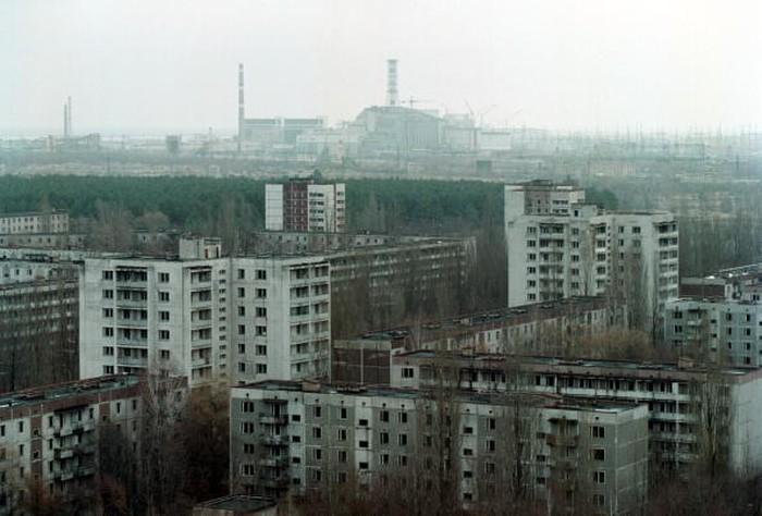 Kota hantu di sekitar Chernobyl. Foto: Getty Images