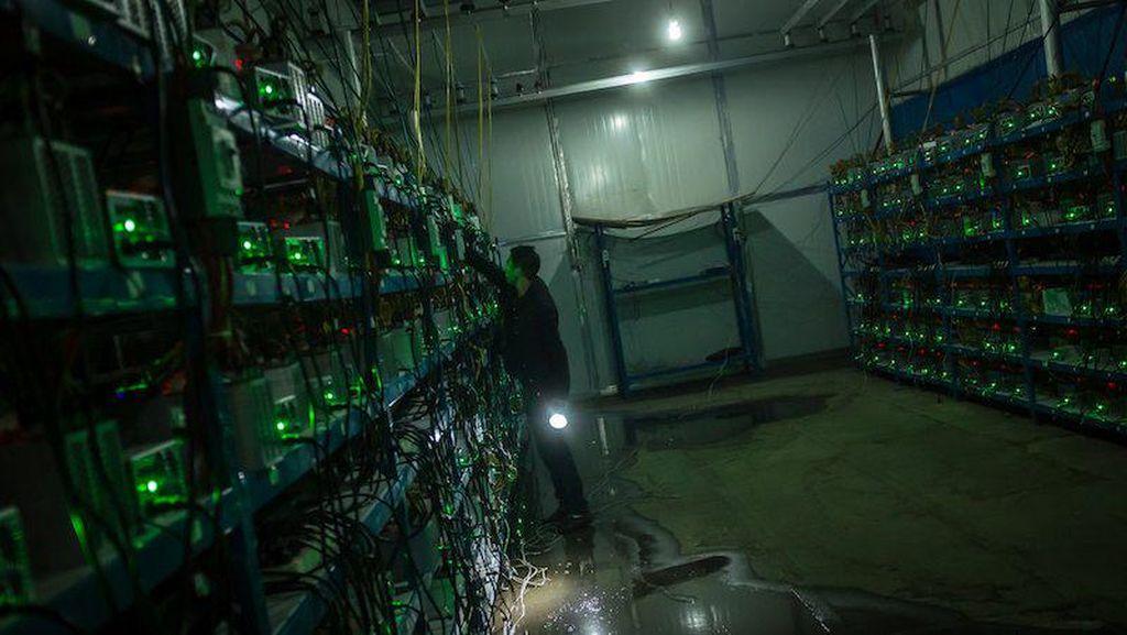 China Ditinggal Para Penambang Bitcoin Karena Suka Razia