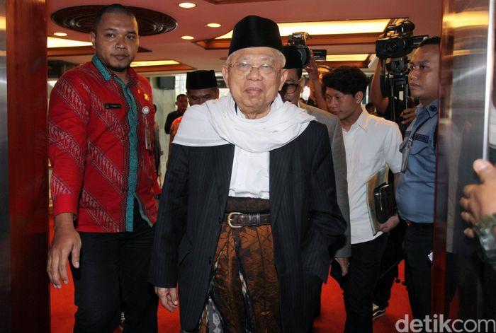 Ketua MUI Maruf Amin (Foto: Lamhot Aritonang)