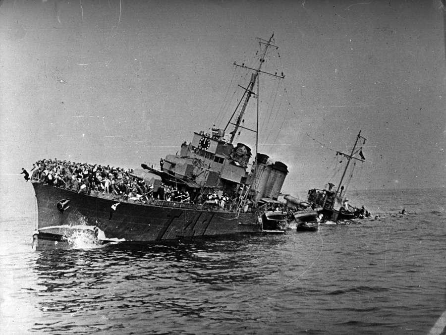 Potret Kenangan Tragedi Dunkirk