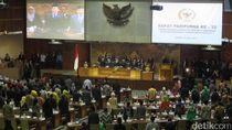 Paripurna RUU Pemilu, 175 Anggota DPR Tidak Hadir