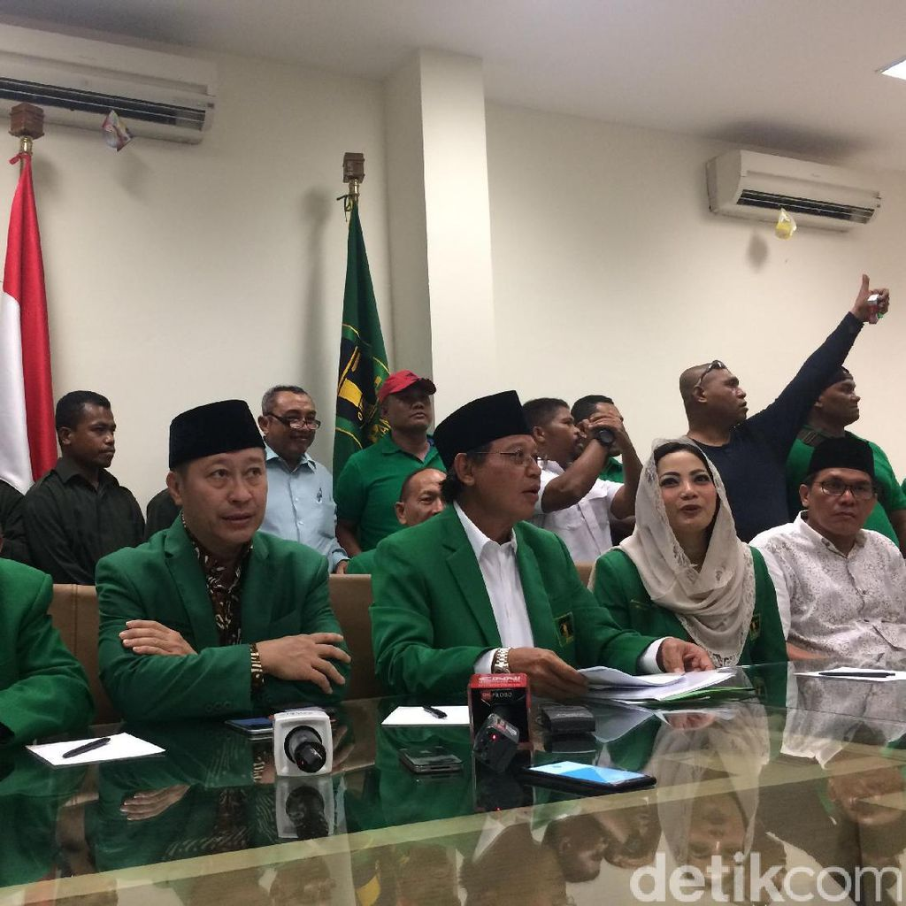 Eks Elite PPP Kubu Djan Tegaskan Dukung Jokowi-Maruf