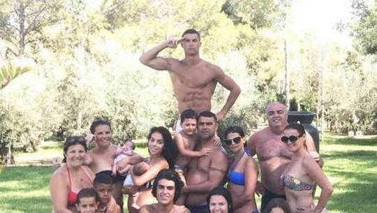 Calon Anak ke-4 Ronaldo di Perut Georgina Rodriguez