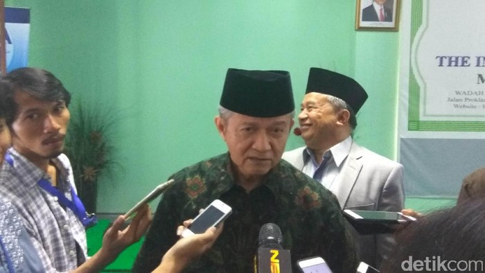 Sekjen MUI, Anwar Abbas (Edo-detikcom)