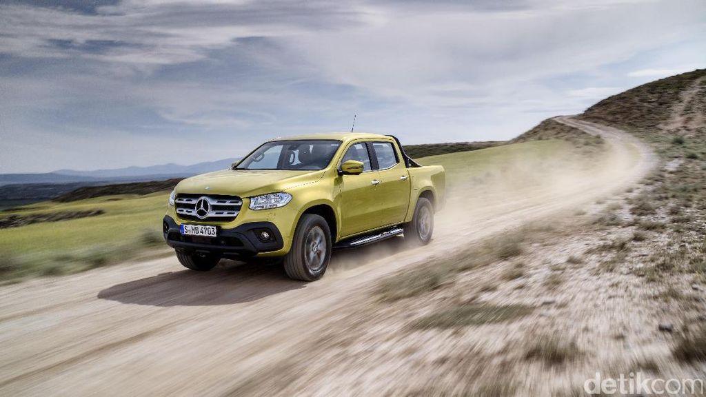 Mercedes-Benz Punya Pikap Mewah, BMW Ogah Ikut-ikutan
