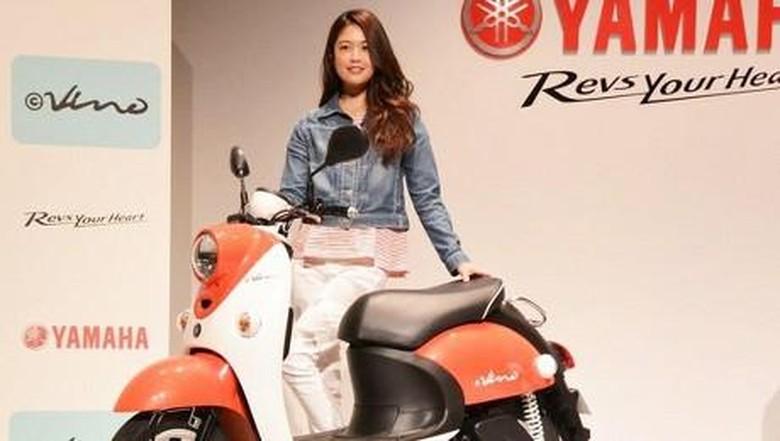 Motor listrik Yamaha e-Vino Foto: Response