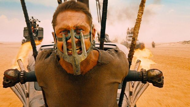 Tom Hardy di film Mad Max: Fury Road