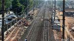 Foto: Proyek Double-double Track di Buaran Klender Terus Digenjot