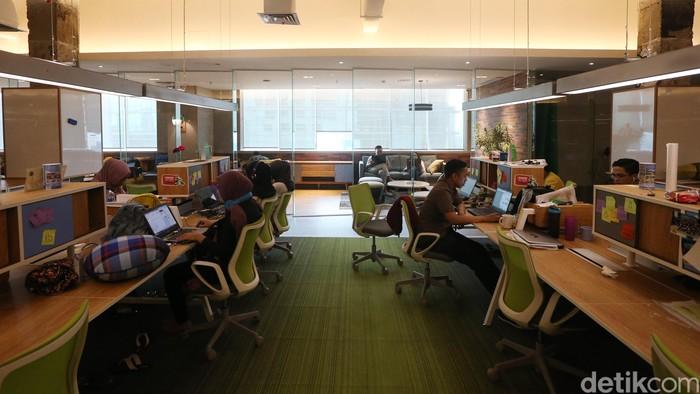 Kantor GO-JEK. (detikINET/Ari Saputra)