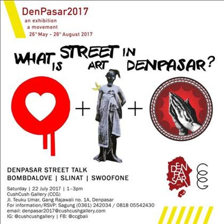 BOMBDALOVE akan Bincang Soal Street Art di Denpasar