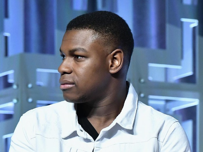 ORLANDO, FL - APRIL 14:  John Boyega  attends the Star Wars Celebration day 02  on April 14, 2017 in Orlando, Florida.  (Photo by Gustavo Caballero/Getty Images)