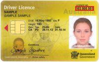 SIM negara bagian Queensland