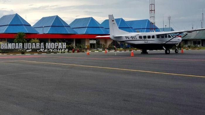 Menhub tinjau Bandara Mopah, Merauke
