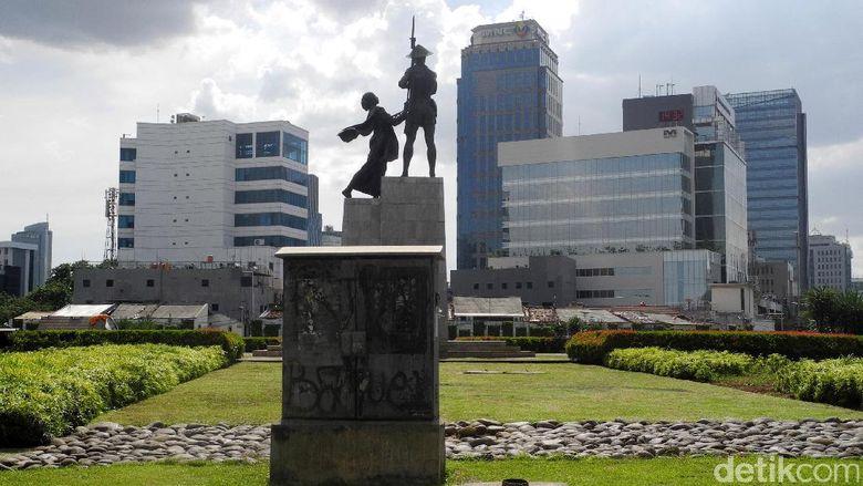 Tugu Tani, Patung Tani Jakarta