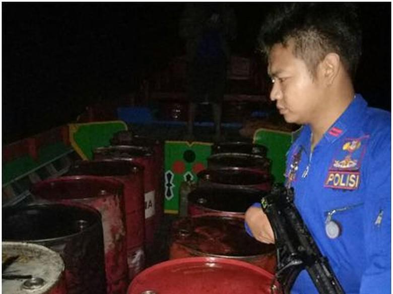 Hasil Pengembangan, Polisi Temukan 4.000 Liter BBM Ilegal di Sumsel