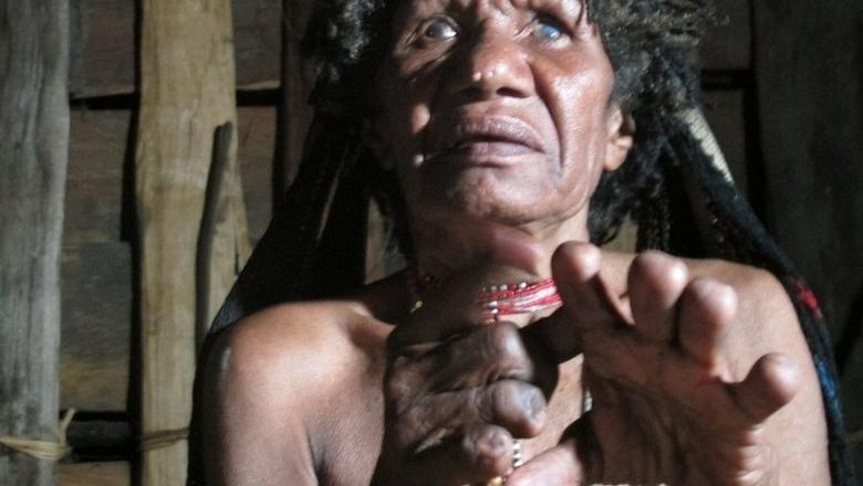 Wanita dari Suku Dani (Afif/detikTravel)