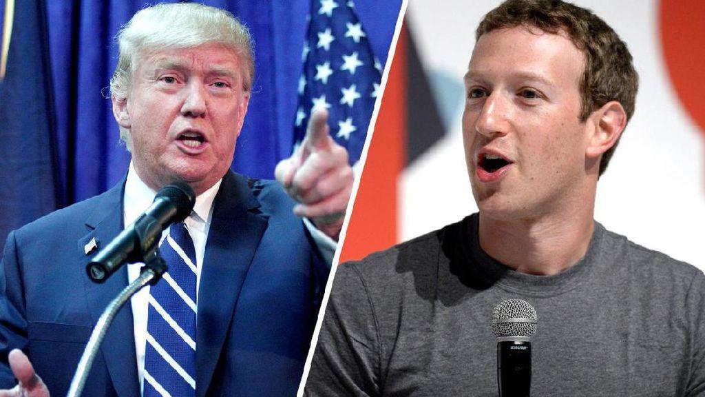Zuckerberg Kampanye Terselubung di Facebook?