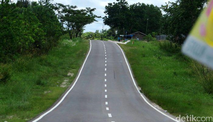 Untuk menuju calon lokasi ibu kota bisa melalui Jalan Tjilik Riwut.