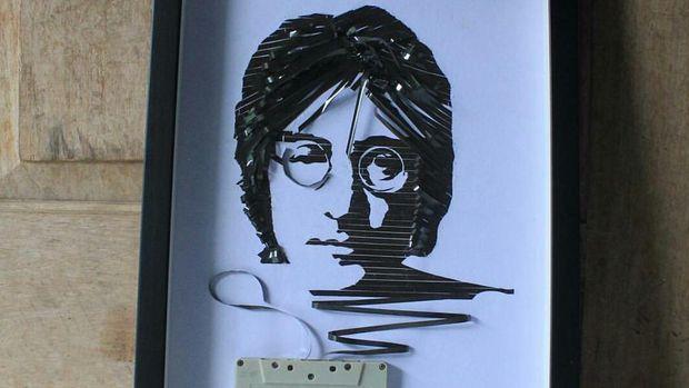 Lukisan pita kaset