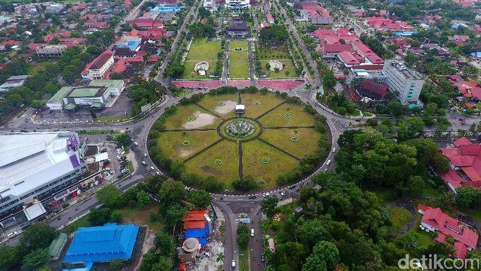 Kota Palngka Raya dari Udara (Foto: Eduardo Simorangkir/detikFinance)