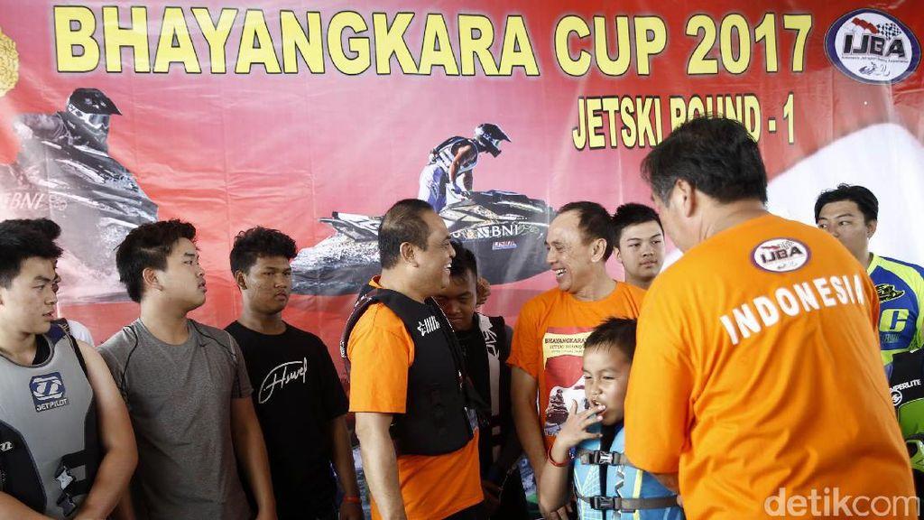 Menjaring Calon Atlet Nasional Jetski di Bhayangkara Cup 2017