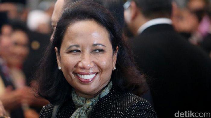 Menteri BUMN Rini Soemarno/Foto: Ari Saputra