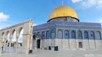 Dome of The Rock, yang sering disangka Masjid Al Aqsa (Erwin/detikTravel)