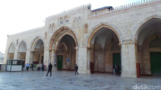Masjid Al-Aqsa Yerusalem.