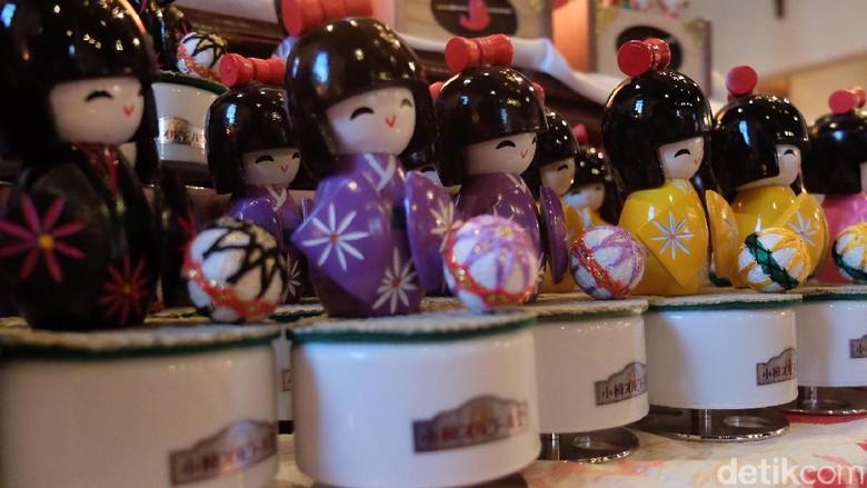 Suvenir kotak musik khas dari Otaru, Jepang (Baban/detikTravel)