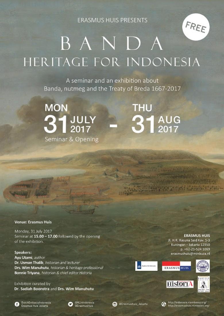 Pameran Seni tentang Banda Digelar di Erasmus Huis Jakarta