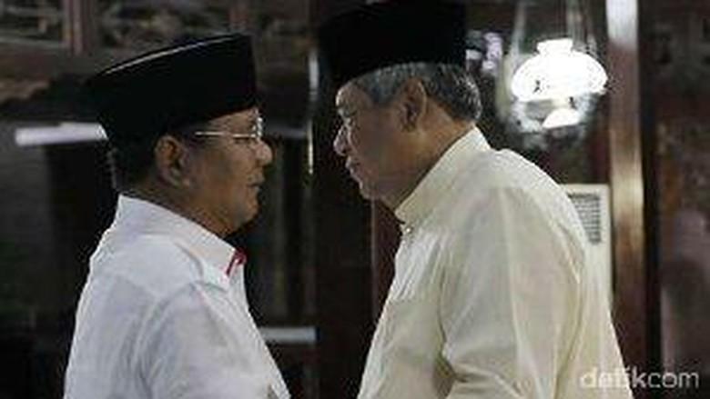 Besok SBY Bertemu Prabowo, Gerindra: Pertemuan Penting 2 Sahabat