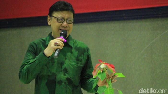 Menteri Dalam Negeri Tjahjo Kumolo (Foto: Wisma Putra/detikcom)