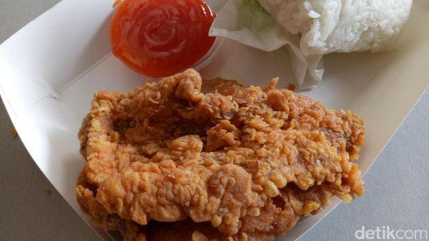 Fried chicken merek A.