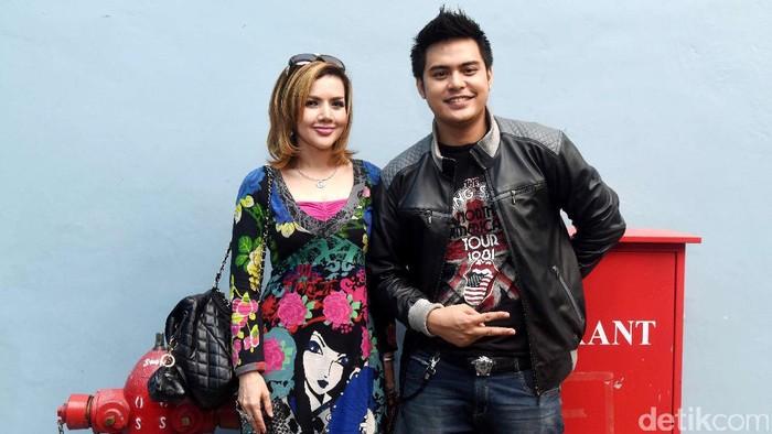 Galih Ginanjar dan istri barunya Barbie Kumalasari. Foto: Noel/detikHOT