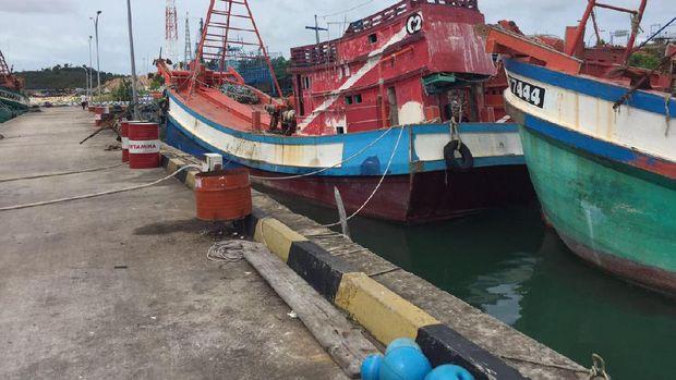 Tak Ditenggelamkan, Kapal Eks Asing Ini Dilelang di Batam