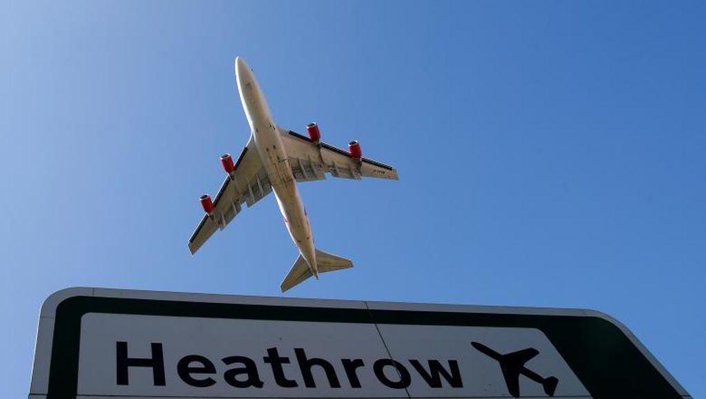 Ada Gangguan Lampu Landasan, Penerbangan di Heathrow Tertunda