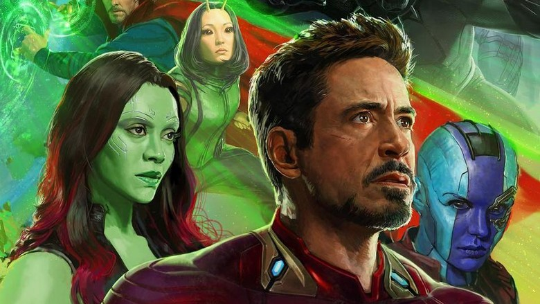 Poster Avengers Infinity War. Foto: Instagram Ryan Meinerding
