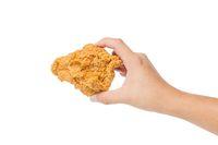 Fried chicken renyah yang enak dinikmati dengan nasi.