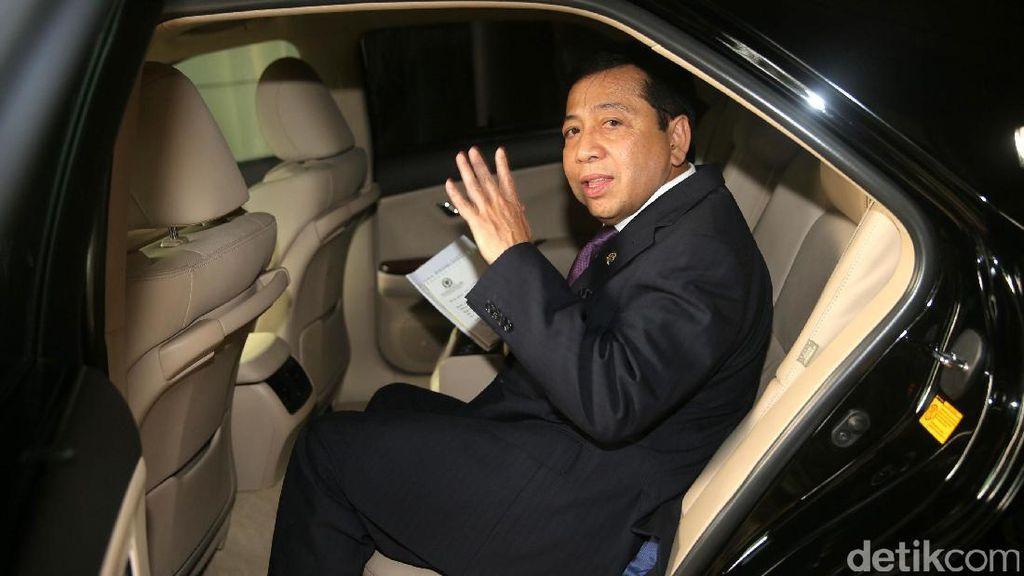 Melirik Mobil-mobil yang Dipakai Setya Novanto