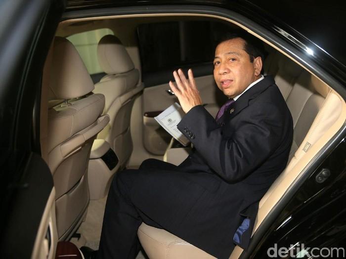 Setya Novanto yang dijadwalkan diperiksa KPK tak bisa hadir karena sakit. (Foto ilustrasi: Agung Pambudhy)
