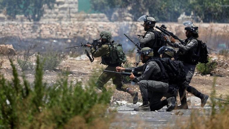 Bentrok dengan Tentara Israel, 2 Remaja Palestina Tewas