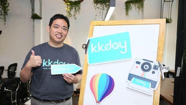 Ming Chen, Co-Founder dan CEO KKday.