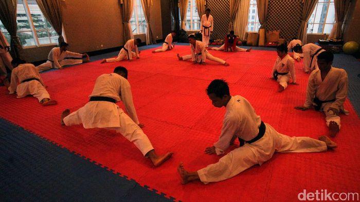 Pelatnas Karate (Foto: Lamhot Aritonang)