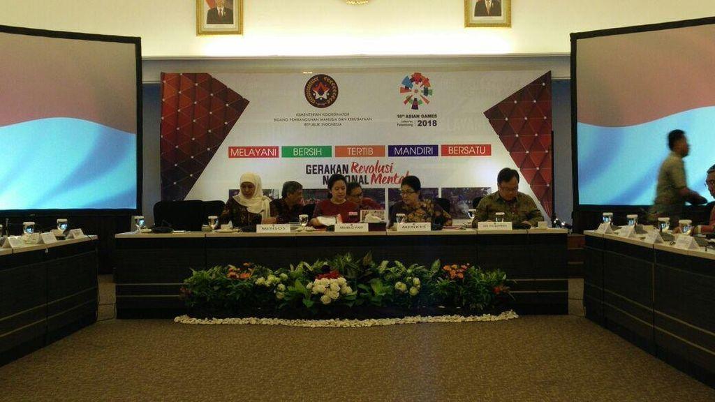 Menteri Jokowi Ngumpul Bahas Integrasi 3 Bansos Jadi 1 Kartu