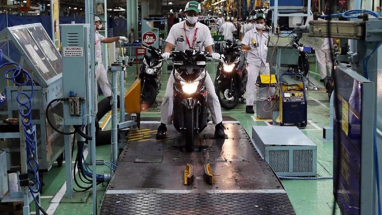 Pabrik Honda di Sunter (Foto: Pool/AHM)