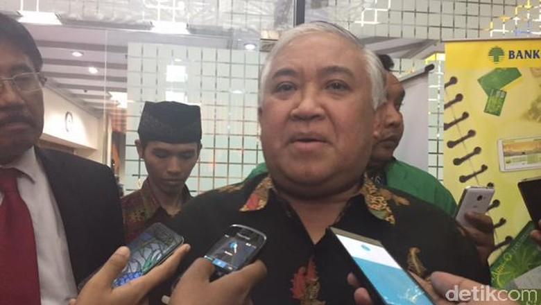 Din Syamsuddin: Saya Yakin Novanto Akan Ikuti Ketentuan Hukum