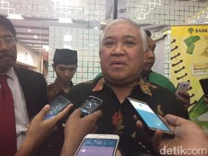 Jadi Pimpinan Ranting Muhammadiyah, Din Syamsuddin: Ini Pengabdian
