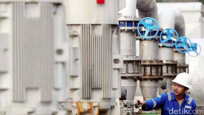 Ilustrasi pembangkit listrik panas bumi/Foto: Grandyos Zafna