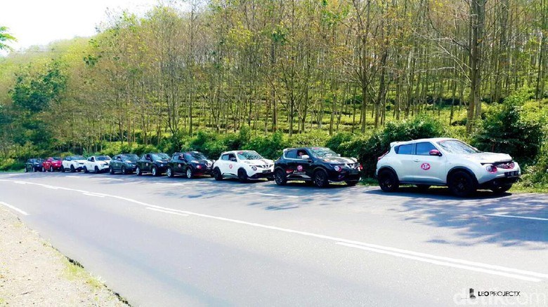 Foto: Nissan Juke Indonesia Action (NJIA)